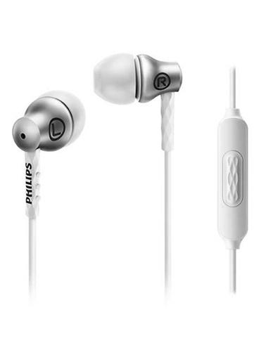 Philips SHE8105SL/00 Kulakiçi Mikrofonlu Beyaz